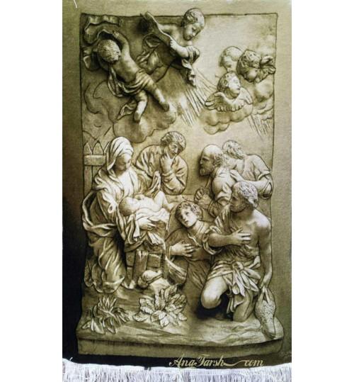statue of Jesus' birth carpets