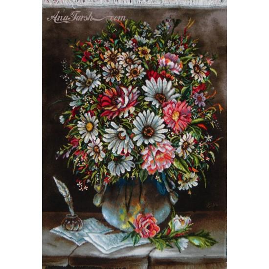 تابلوفرش گل و نامه