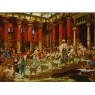 تابلو فرش کاخ سلیمان