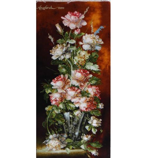 تابلوفرش گل رز طولی