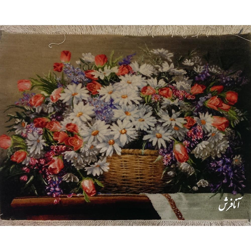 تابلوفرش گل بابونه
