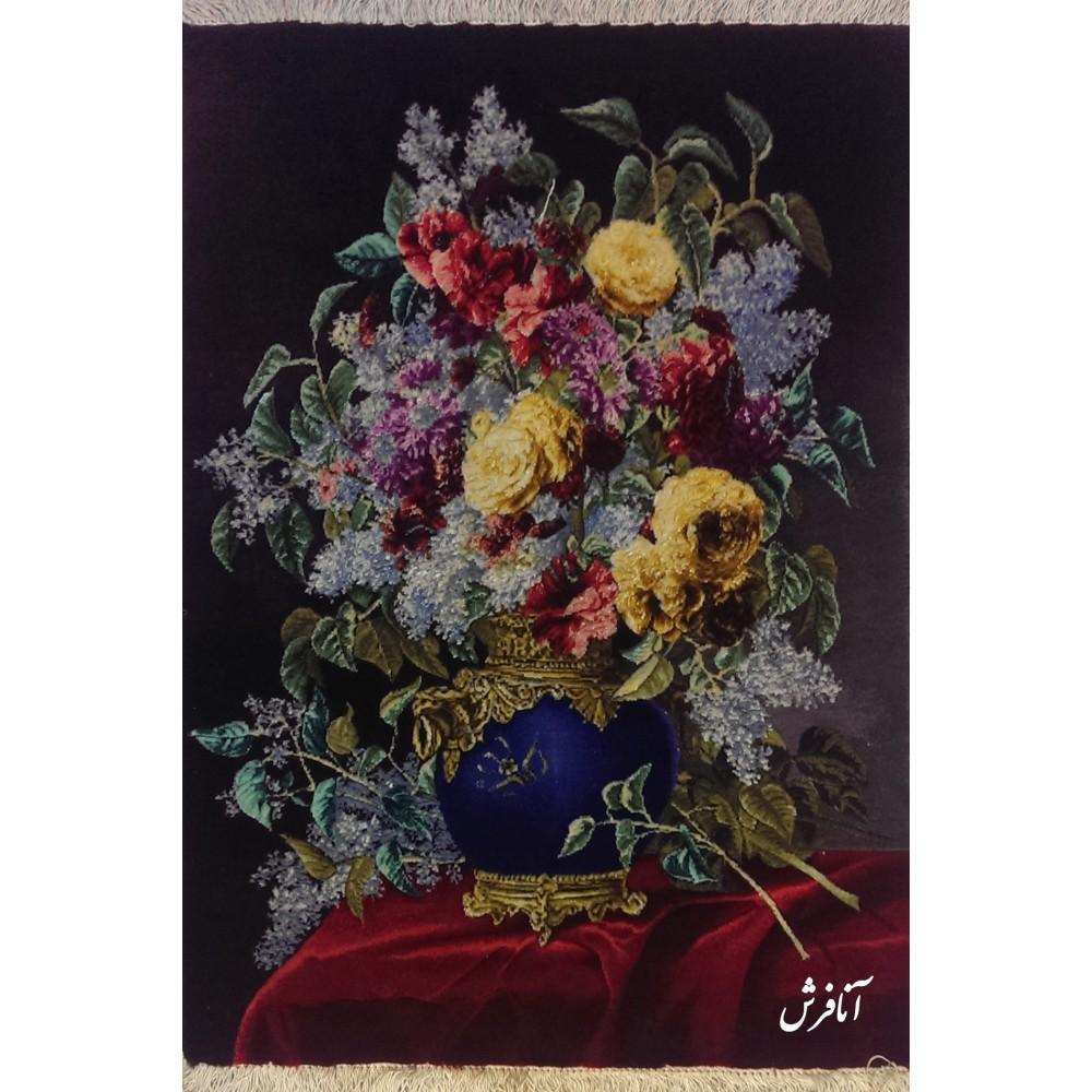 تابلوفرش دستباف  گل یاسمن
