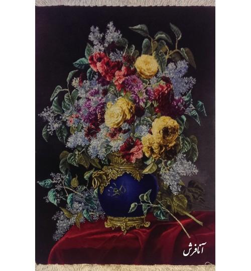 تابلوفرش گل یاسمن