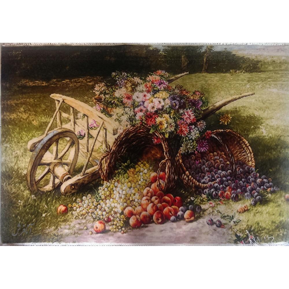 تابلوفرش ارابه گل