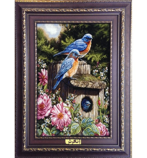 Pictorial Carpets Blue birds