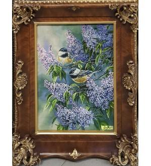 birds and Jasmine Carpets