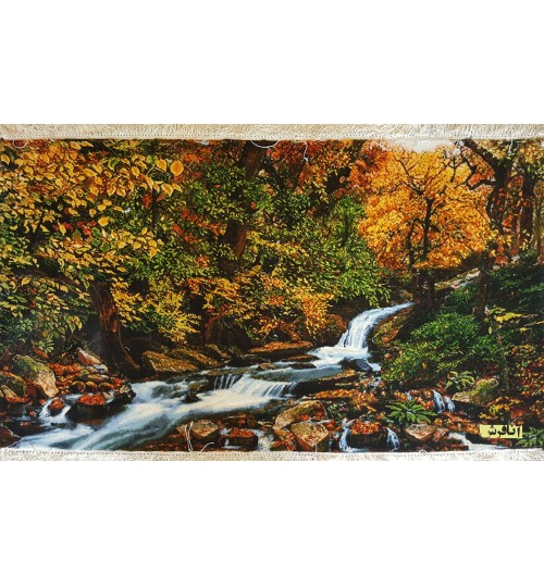 forest and river view's tableau carpets