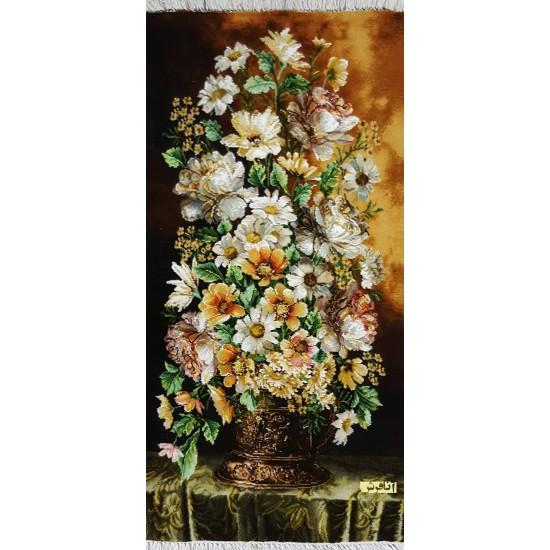 تابلوفرش گل طولی