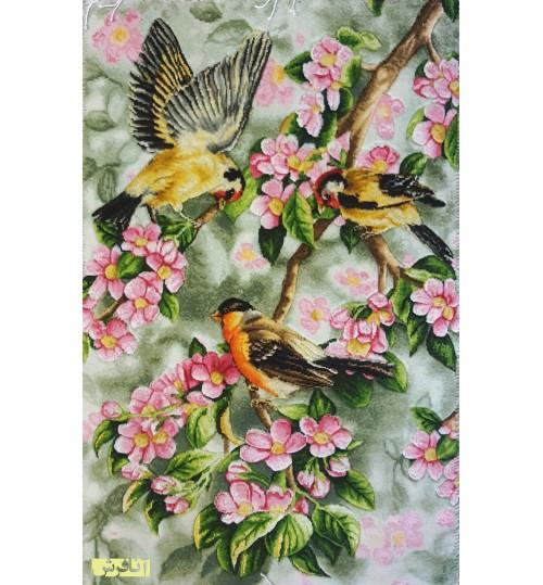 تابلو فرش پرندگان