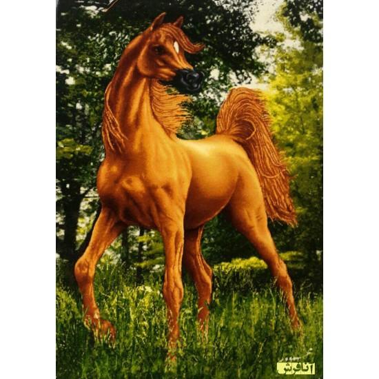 تابلو فرش  اسب مینیاتوری