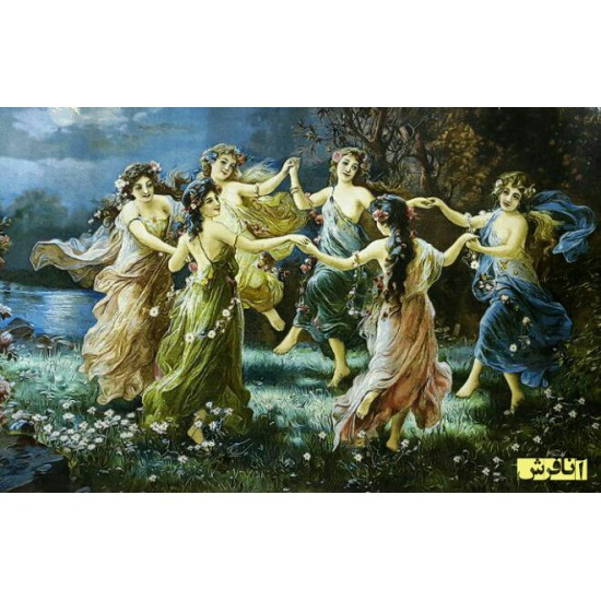 تابلوفرش رقص مهتاب