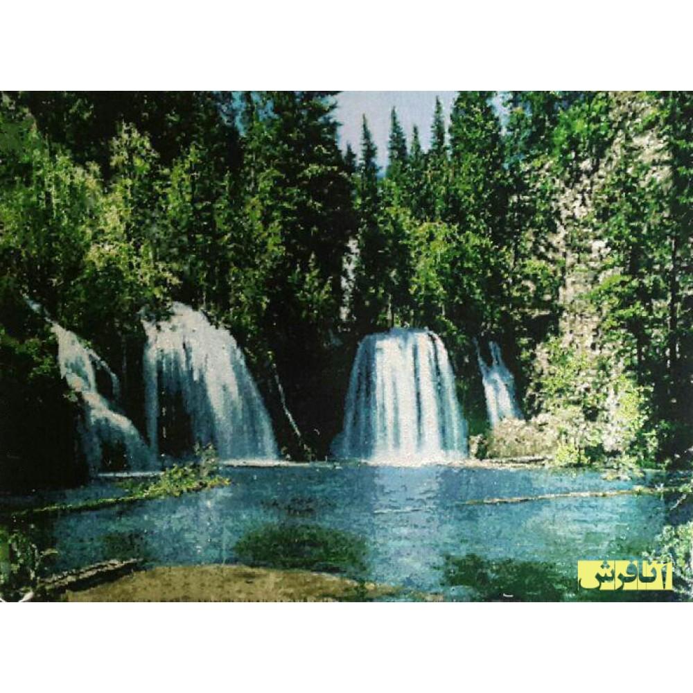 تابلو فرش آبشار