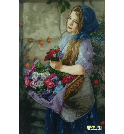 Florist Girl Tableau Carpets