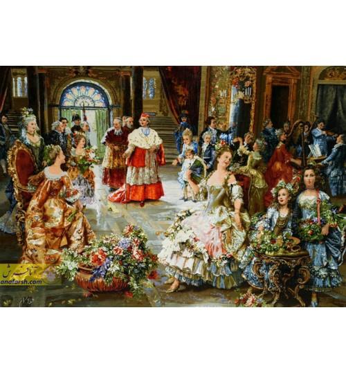 تابلو فرش مهمانی پاپ