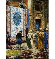 تابلو فرش بازار قاهره