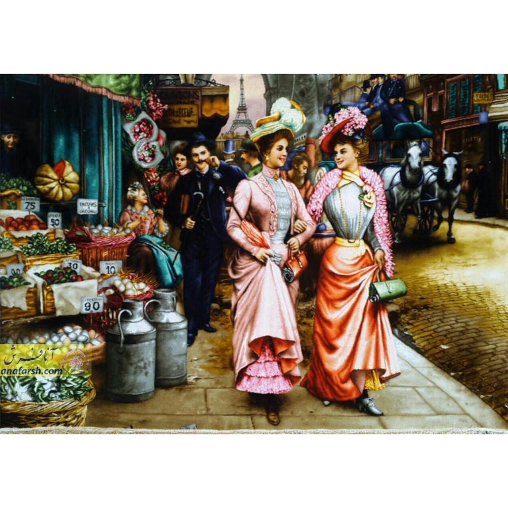 تابلوفرش بازار شانزلیزه