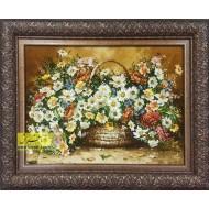 تابلوفرش گل ملیسا کد 10957