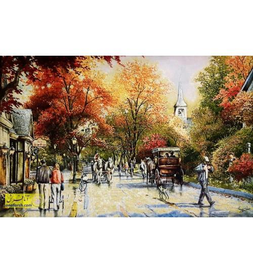 تابلوفرش خیابان شانزلیزه