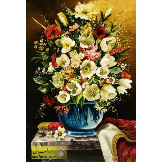 تابلوفرش گل گیسو