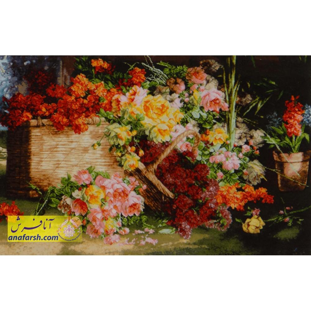 flower tableau carpets