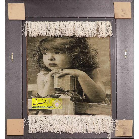 تابلو فرش دختر