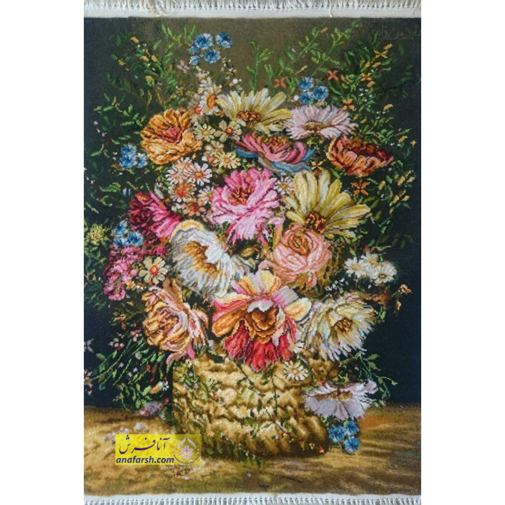 Flowers and Vase tableau carpets