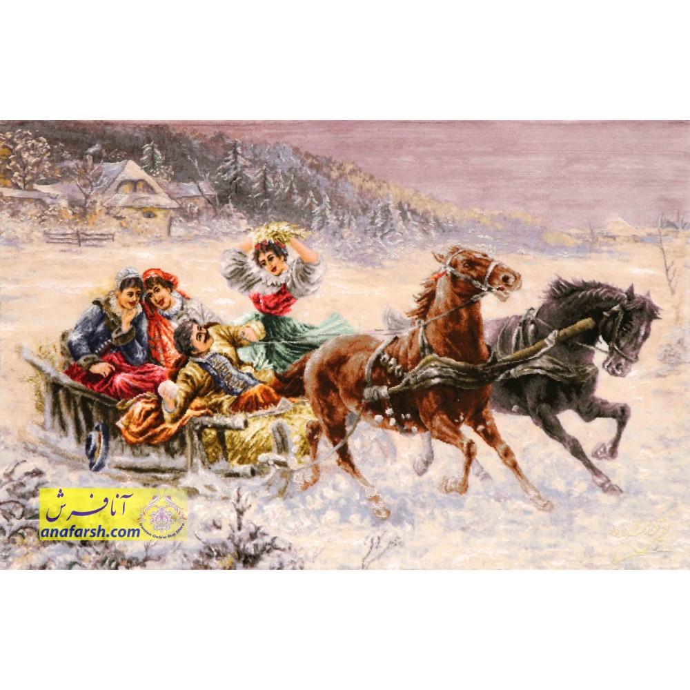 winter scenery carpets