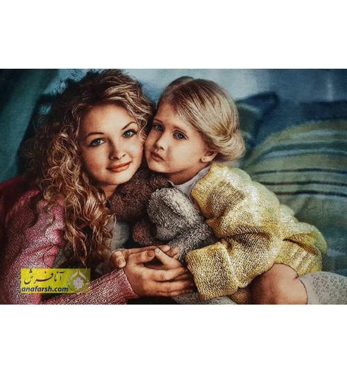 تابلوفرش مهر مادر