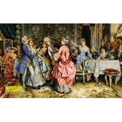 تابلو فرش مهمانی اشرافی 11243