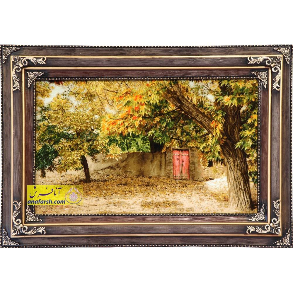 تابلو فرش کوچه باغ تبریز