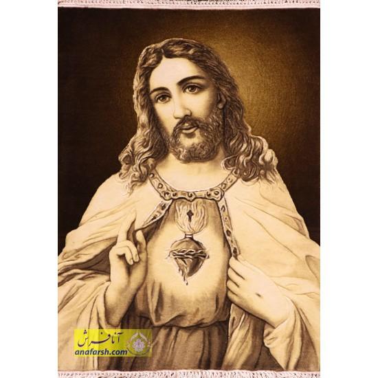 تابلو فرش حضرت عیسی
