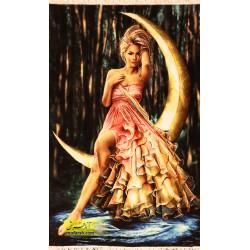 تابلو فرش دختر ماه کد 11514