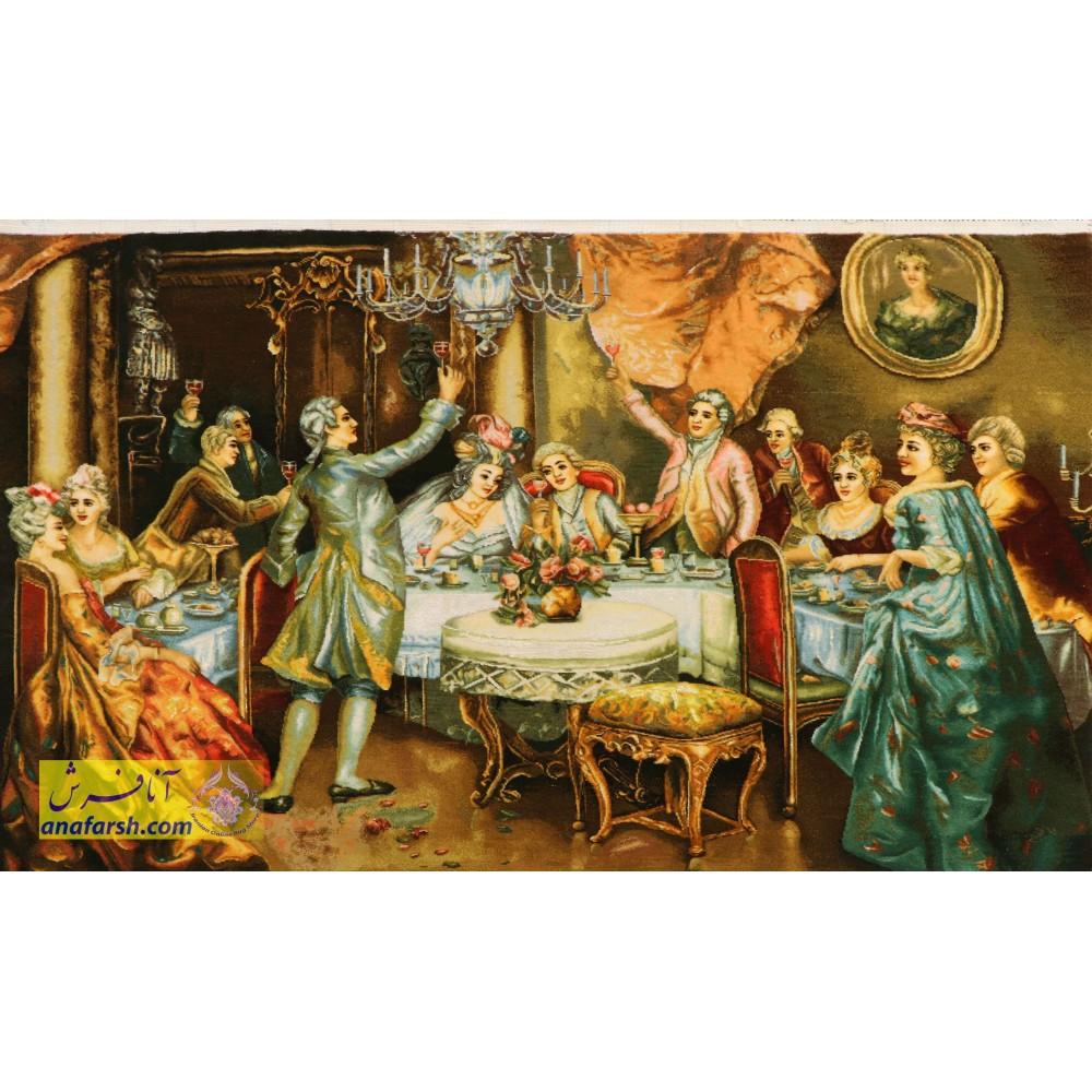 Wedding feast tableau carpets