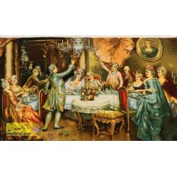 تابلو فرش بزم عروسی کد 11329
