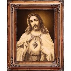 تابلو فرش حضرت عیسی کد 11345