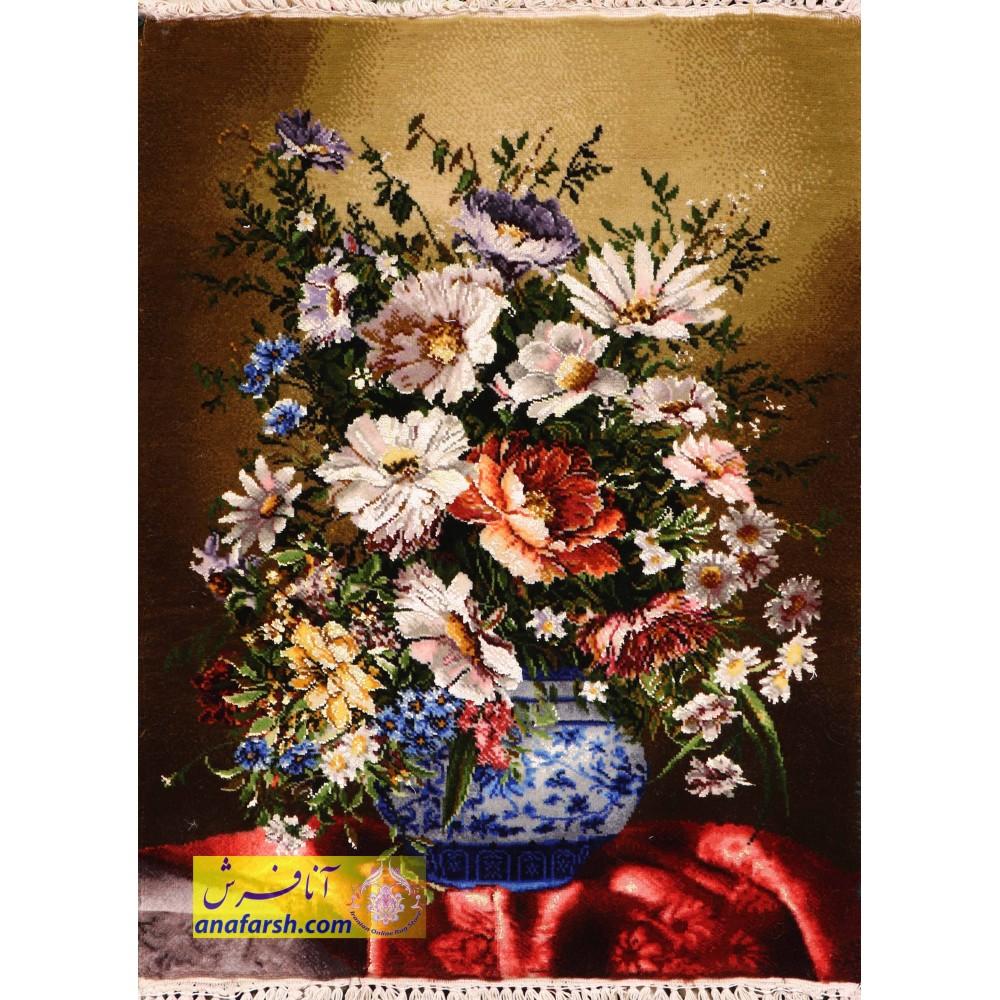 Flowers and Vase tableau carpets