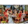 تابلو فرش مهمانی فرانسوی کد 11470