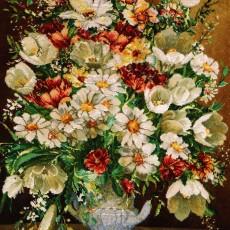 تابلوفرش گل