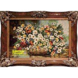 تابلوفرش گل بابونه کد 11548