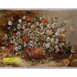 تابلوفرش گل لاله کد 11588