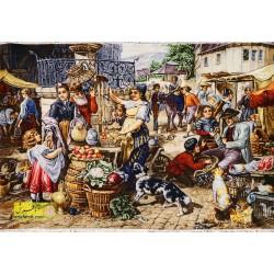 تابلو فرش بازار کد 11599