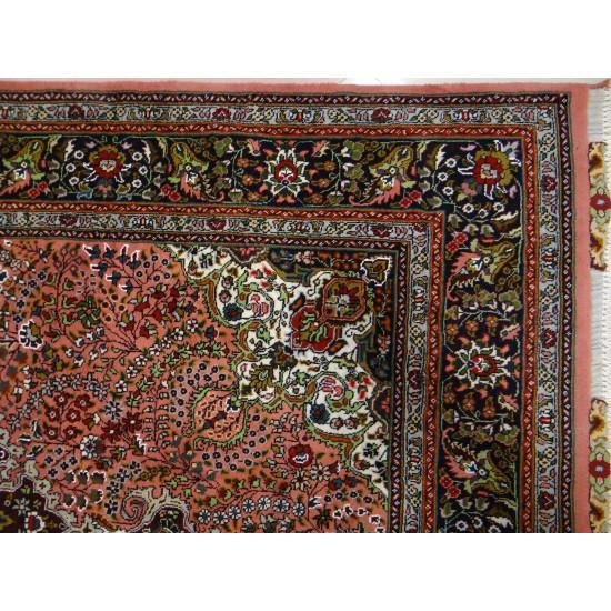 فرش دستباف جفت شش متری کرمان قلم آذرشهر