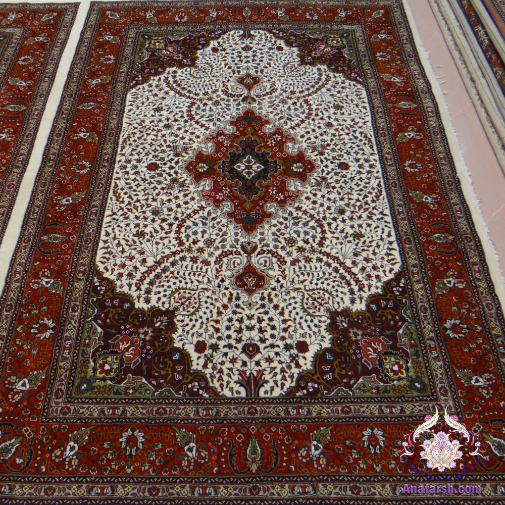 فرش دستباف شش متری کرمان قلم آذرشهر