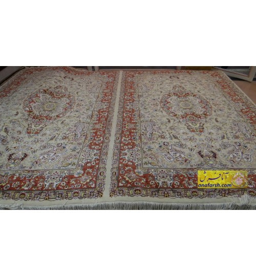 Pair of sixmeters Khatibi carpet