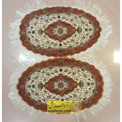 جفت فرش رومیزی