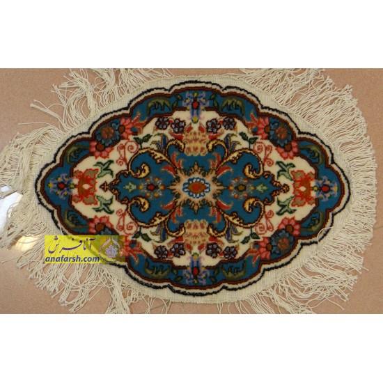 جفت فرش رومیزی کد 70011